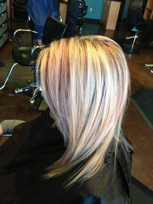 Light blonde hair with burgundy highlights the best blonde hair 2017 30 burgundy hair ideas for blonde red and brute pmusecretfo Gallery