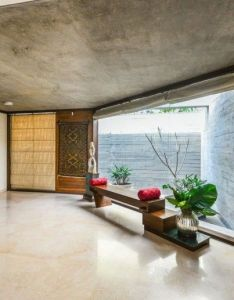 Aranya india house by modo designs foyer also nice  himalayan look to this at the massive floor tiles rh pinterest