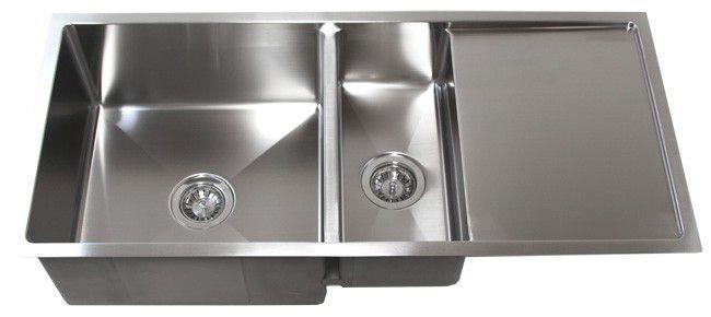 """42"""" Stainless Steel Undermount Kitchen Sink W/ Drain Board"""