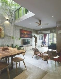 Covet house shows you the announced list for world interior of year prize this contest features projects running first also detras de una fachada convencional un universo verde aire  luz rh pinterest