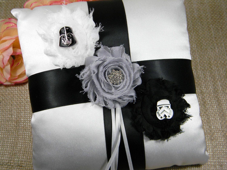 Star Wars Ring Bearer Pillow Darth Vader And