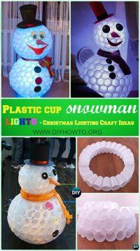10 Unique DIY Outdoor Christmas Lighting Craft Ideas ...