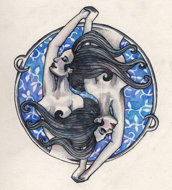 Gemini Tattoos And Design Calendar Zodiac
