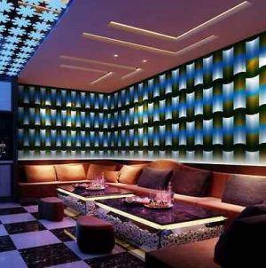nightclub modern bar 3d vinyl wall lounge cafe ktv abstract entertainment karaoke backdrop club cheap paper cập truy interior roll