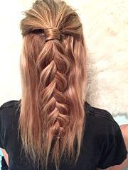 hairstyle dutch braid
