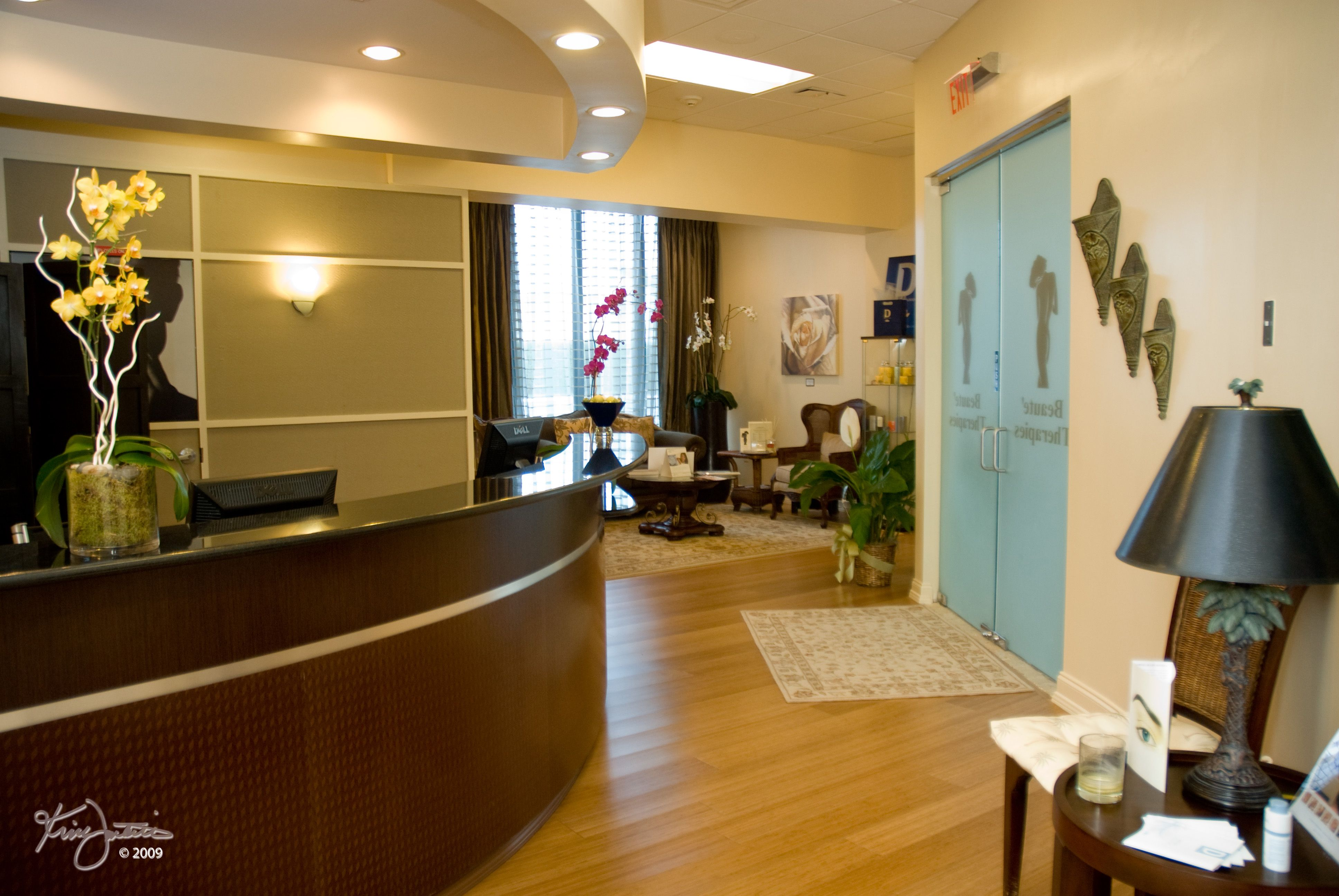 Doctors office interior