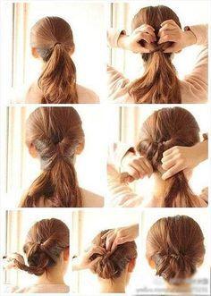 Hochzeit Eine Brautjungfer Haar Frisur Pinterest Einfache