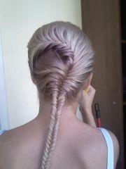 cool braids long hair fishtail