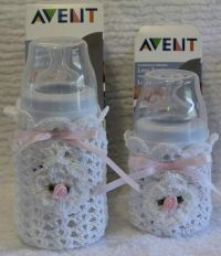 Crochet Avent Baby Bottle Cover by mycrochetboutique on ...