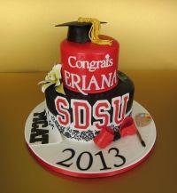 SDSU Graduation Cake! Congratulations class of 2013 ...