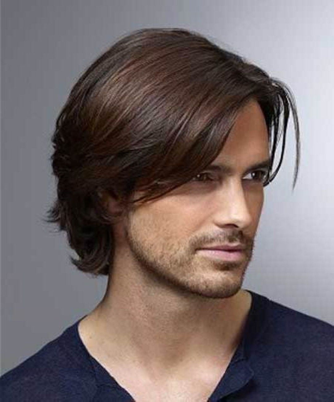 Medium Length Haircuts Men MEN HAIRSTYLES Pinterest Thick