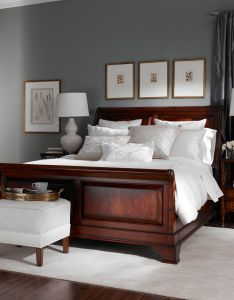 Dark grey master bedroom paint color is benjamin moore rushing river also move over beige gray the new neutral we are using it everywhere rh pinterest
