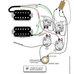 Emg Wiring Diagram Tele Opel Corsa Utility Radio Seymour Duncan - 2 Humbuckers, Vol, 3 Way, Spin-a-splits | Tips & Tricks ...