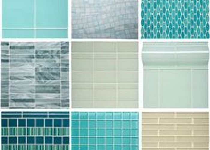 Lilac field micromosaic glass tile pf brick stone pinterest tiles bricks and also