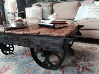 Factory Cart Coffee Table :: Hometalk | DIY Around the ...