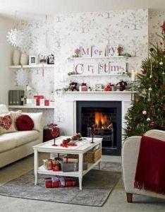 Christmas tree decorating ideas fireplace design also rh pinterest