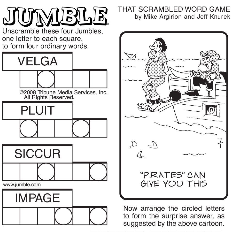 Case study 5 word jumble