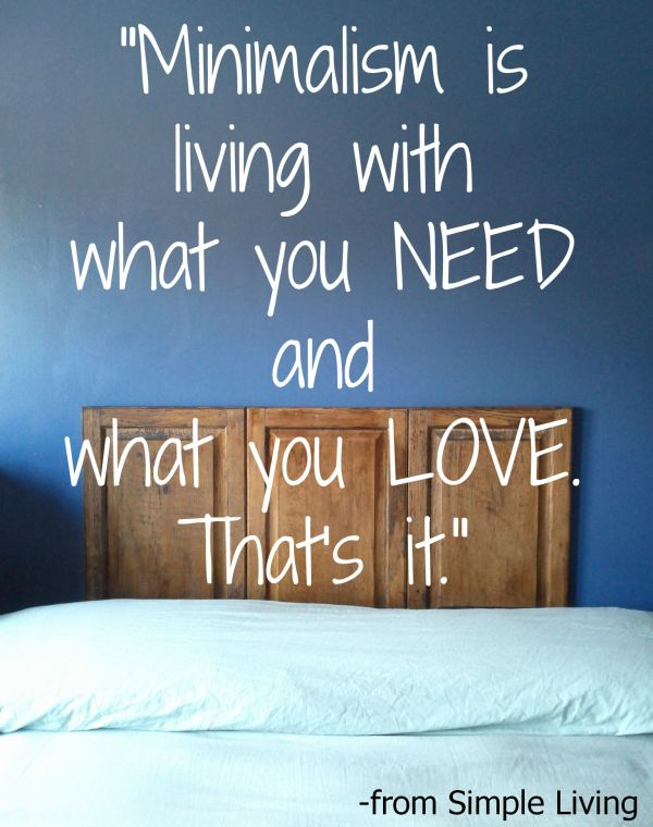 Living a Simple Life Quotes