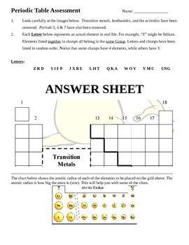 Periodic table challenge answer key periodic diagrams science alien periodic table challenge answer key diagrams urtaz Images