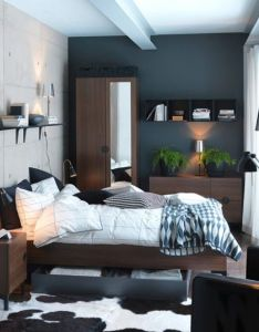 Small space bedroom interior design ideas spaced apartments often have rooms if you  and don   know also lay out interieur pinterest bedrooms wall rugs rh