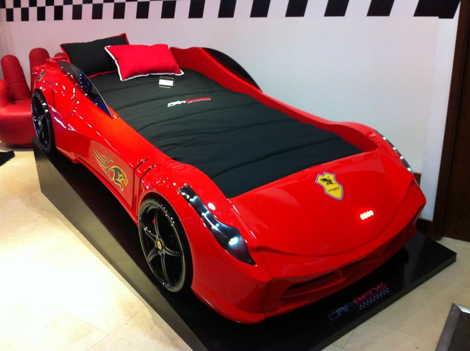 Ferrari Car Bed Cool Kids Bed Design Supercarbeds Pinterest Kids Bed Design Car Bed