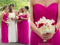 Fuschia Bridesmaid Dresses on Pinterest | Funky Wedding ...