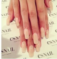 Very seductive nail color. Love this simple manicure ...
