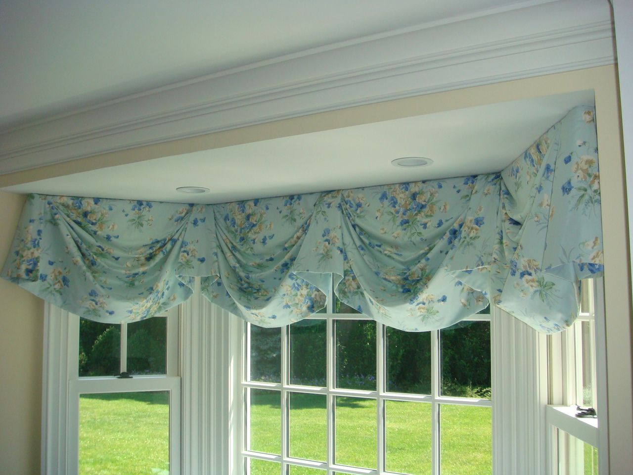 Swag Valance For Bay Window