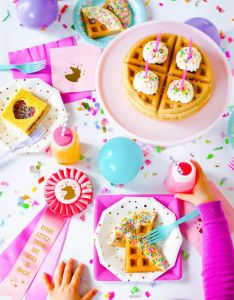 Birthday party ideas also why you should be hosting kids parties at breakfast time the sweet rh pinterest