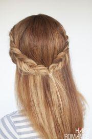 reverse fishtail braid tutorial
