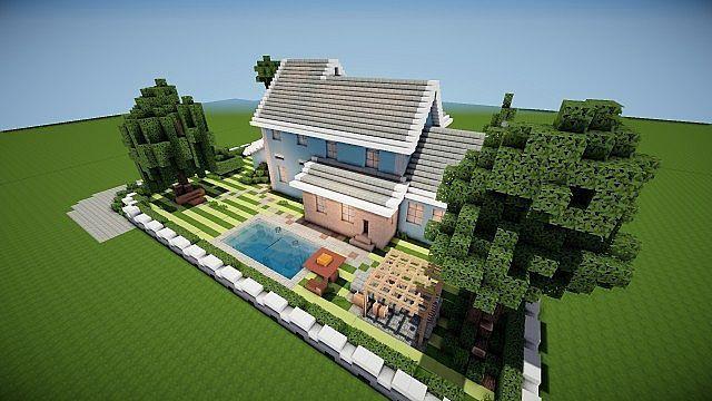 Suburban House Project Minecraft Building Ideas 5 Minecraft
