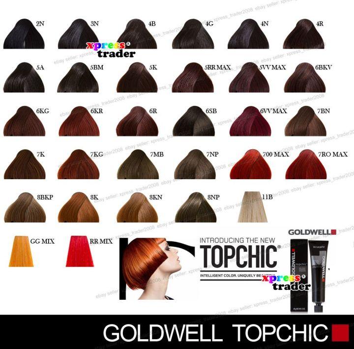 Goldwell Elumen Hair Color Chart Todayss