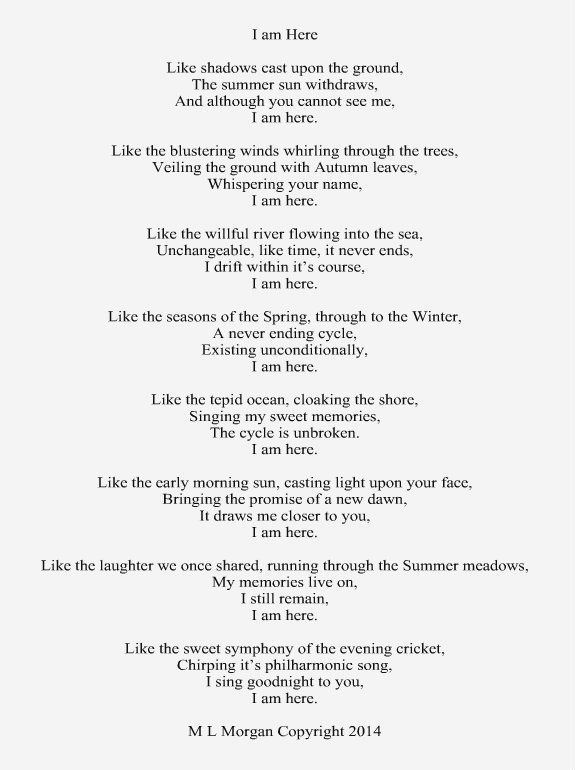 A Poem About The Soul Or Spirit Living After Death