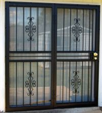 Patio Security Doors, Security doors for sliding glass