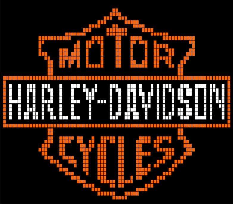 Harley Davidson Logo Crochet Pattern
