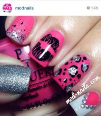Cute nail designs. Instagram nails. Nail art. | Nails gone ...