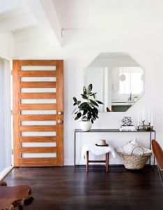 We love this door with cut outs to give your house  modern look from also rh pinterest