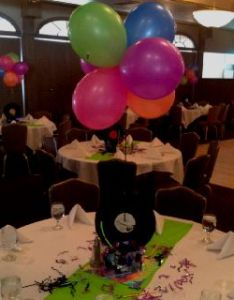 Centerpiece at   party decorated by candie celebrations also best images about  on pinterest rh