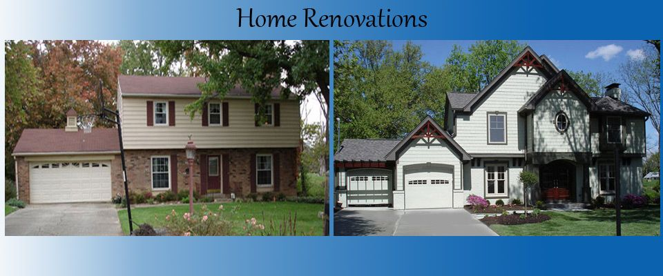Exterior Remodeling Before And After Ohio Residential