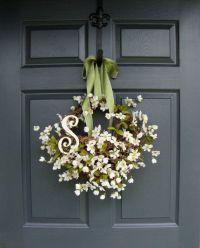 Apple Blossom Floral Basket - Mothers Day Floral Gift ...