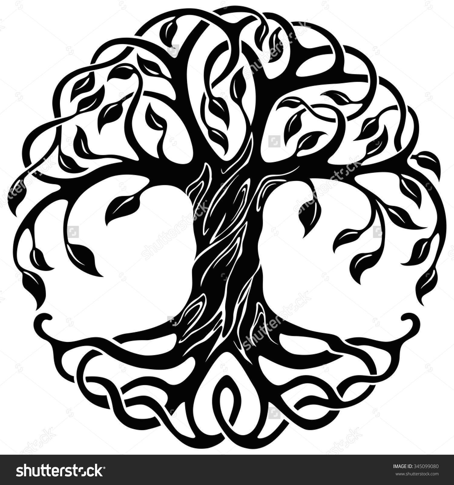 Celtic Tree Of Life Stock Photos, Images, & Pictures