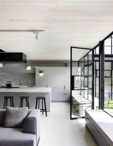 Fitzroy loft is  minimal residence located inside years old chocolate factory in melbourne australia designed by architects eat also follow vomos they are the best lifestyle app rh za pinterest