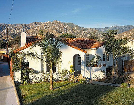Spanish mission style house plans