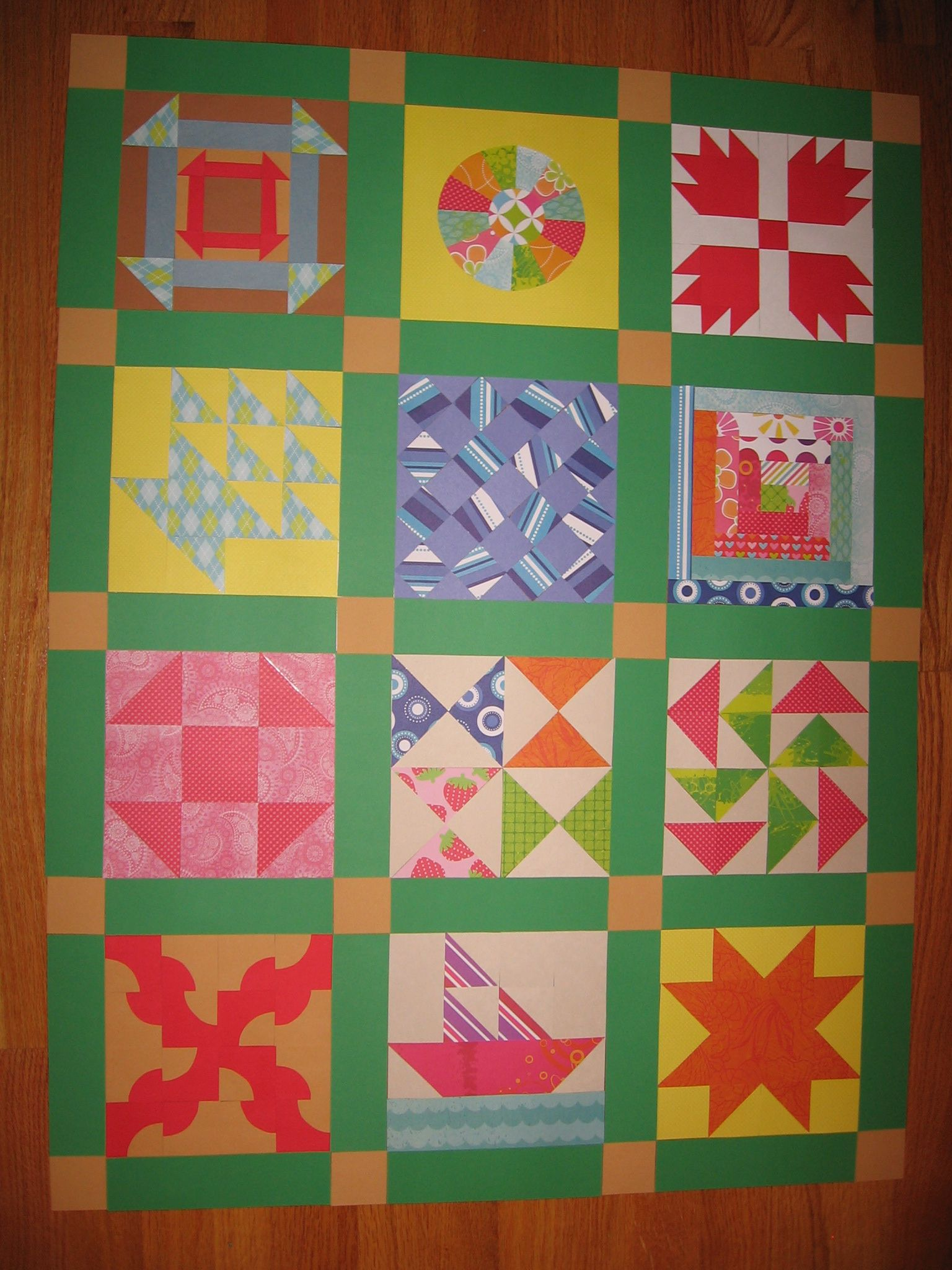 Underground Railroad Paper Quilt Thi Would Be Nice With