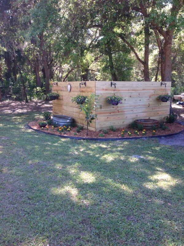 pretty backyard landscaping