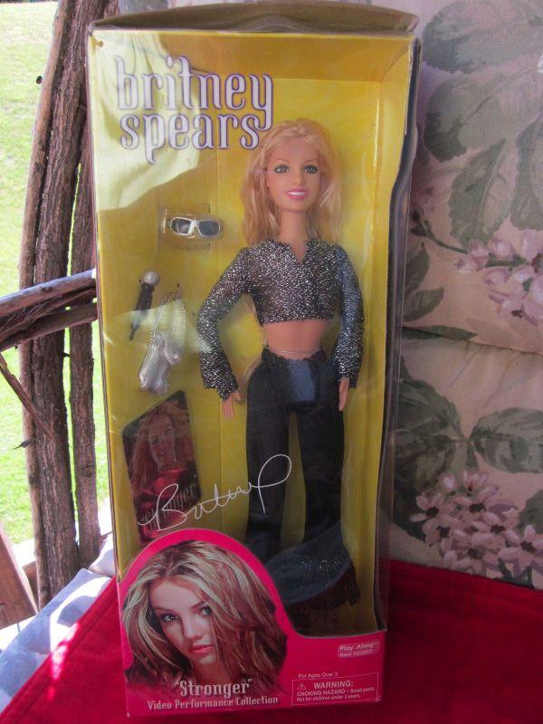 Stronger Britney Spears Doll
