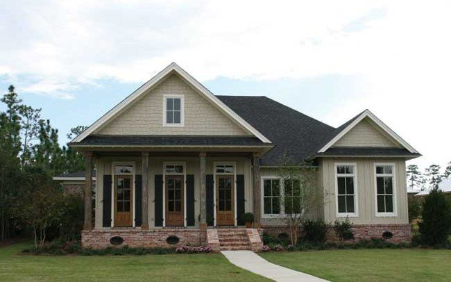 This Louisiana Style Cottage Was Designed And Built In Fairhope