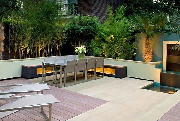 Modern Garden Design Seating Area Balcony Garden Inspiration