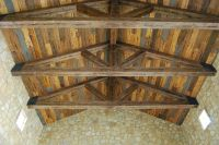 Distressed, Rustic, Wood Plank Ceiling Rustic, Distressed ...