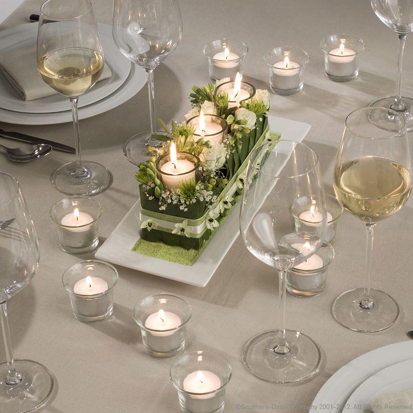 Tischdeko Hochzeit  Blumendeko  Pinterest  Tischdeko hochzeit Tischdeko und Hochzeit deko